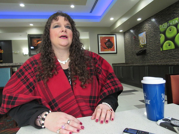 CATHY SPAULDING/Muskogee Phoenix<br /> Shawna Points discusses her commitment to promoting the variety that Muskogee offers.