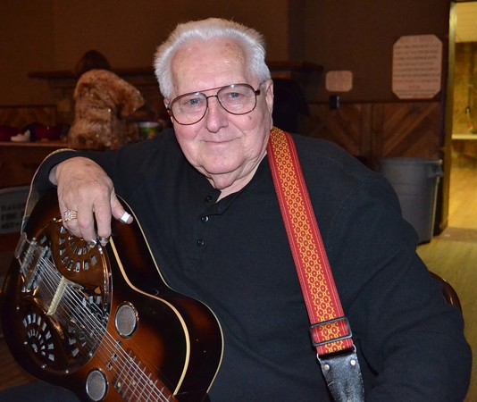 Photo by Liz McMahan<br /> Lee Roy Whisenhunt was raised on western swing music and began playing in bands when he was in high school.