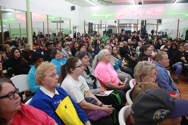 Special photo by Chesley Oxendine<br /> Strictly Fitness Weight Loss Challenge saw its biggest turnout ever, leading to a packed audience for Saturday morning's panel.