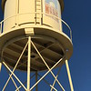 ANDREA CHANCELLOR/Special to the Phoenix<br /> An historic water tower at Oklahoma Music Hall of Fame adds authentic history to an old rail depot.