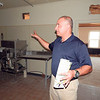 Staff photo by Wendy Burton<br /> Gospel Rescue Mission Executive Director Rich Schaus stands in the kitchen of the future Miller Family Center for Life Change, the new location of the GRM shelter and poverty-reduction programs for the community on Callahan Street. Work begins on the project soon, thanks to a grant from the City of Muskogee Foundation, Schaus said.