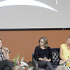 ABIGAIL HALL/Muskogee Phoenix<br /> Q&A panelists Keri Spencer, Melissa Wedman and Betsy Gregory, local female entrepreneurs and company founders, share their experiences and discoveries through pursuing their passions.