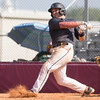 Phoenix special photo by Von Castor<br /> Three Rivers' Jake Northern hits a three-run home run in the second inning of the second game Sunday afternoon at Hilldale.