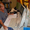 Staff photo by Mark Hughes<br /> Carla Frazier, a computer tomography technician, reviews X-rays at EASTAR Health System. For simple fractures, an urgent care clinic with X-ray capability is as good as an emergency department. The medical practitioner can set the fracture, and then an appointment with an orthopedic surgeon can be made.