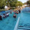 KENTON BROOKS/Muskogee Phoenix<br /> People gather to enjoy the health benefits of Against the Flow in the Lazy River at the River Country Water Park on Mondays and Tuesdays.
