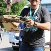 JOHN HASLER/Phoenix Special Photos<br /> Clay Turner of Eufaula poses with his short course trophy for winning the Port to Fort Adventure Race Saturday.