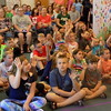 Staff photo by Mike Elswick<br /> About 60 youngsters were on hand recently at the Q.B. Boydstun Public Library for a program provided by the Oklahoma City Zoo, presented by naturalist Erica Buckwalter.