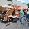 Staff photo by Mark Hughes<br /> One of the more unique entries in Saturday's Fort Gibson Car, Truck and Motorycyle Show was this 1966 Homecraft Sportsman Club travel trailer built by hand by Brian Fortney. He said it will fit someone as tall as 6 feet 8 inches.