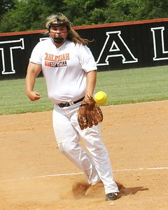 JOHN HASLER/Phoenix special photo Bailey Jones of Tahlequah pitches in relief duty for White.