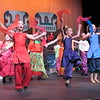 "CATHY SPAULDING/Muskogee Phoenix<br /> Muskogee Little Theatre's Summer Youth Theater production ""Aladdin Jr."" has young cast members dancing in the streets. The production runs through Sunday."