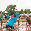 Special photo by Travis Sloat<br /> Michael Davis and Jon Davis, playing for the Redneck Mud Crew, both lay out for an incoming serve at Mudstock on Saturday. Mudstock celebrated its 10-year anniversary, and approximately 1,000 people came out to play and watch.