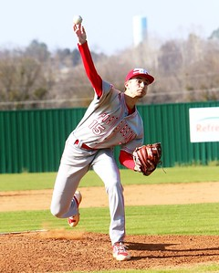 Phoenix special photo by John Hasler Fort Gibson's Seth Martin was the hero of the day for the Tigers, limiting the Inola Longhorns to two hits while striking out 11 in the Tigers' 2-0 District 4A-7 win on Monday.