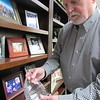 CATHY SPAULDING/Muskogee Phoenix<br /> Chris Condley shows a plaque he received for serving on the Baptist Foundation of Oklahoma. He said he believes in helping people through volunteering.