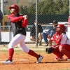 Phoenix file photo by John Hasler<br /> Fort Gibson's Aubree Bell, left, looks to pick up where she left off last season when she batted .596 and hit 21 home runs in earning a spot on the All-Phoenix team.