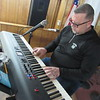 Relevant Church Pastor Jason Cochran enjoys playing<br /> keyboard in his spare time.