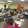 CATHY SPAULDING/Muskogee Phoenix<br /> Connors State College students and staff have a noon lunch at the Baptist Collegiate Ministry each Wednesday, across from Connors' Warner campus.