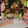 CATHY SPAULDING/Muskogee Phoenix<br /> Early Childhood Center pupil Aurabella Thomas thinks about a question that teacher Jacquie Hill asked. Hill was named Muskogee Public Schools Teacher of the Year.