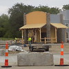 Special photos by Mike Elswick<br /> A construction crew works on a new Colton's Steak House, which is being built within the urban renewal project area on West Shawnee Bypass.