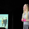 """Chiara Miller sings Whitney Houston's 1980s hit """"All at Once"""" during Friday's Tiger Revue."""