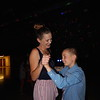 CATHY SPAULDING/Muskogee Phoenix<br /> Stephanie Howe slow dances with her son, Memphis Tiner, 9, during Friday's Mother Son Dance at Intermediate Elementary School gym.