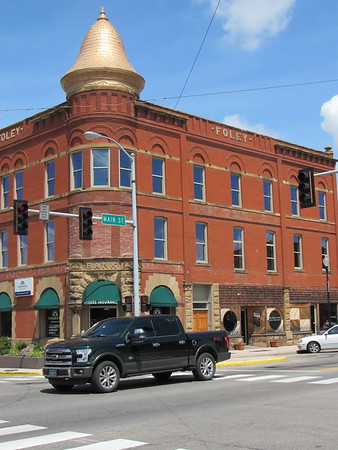 CATHY SPAULDING/Muskogee Phoenix<br /> Eufaula's 1907 Foley Building is a historic landmark. Eufaula<br /> celebrates its multicultural history Saturday during Heritage<br /> Days.