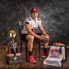 Phoenix special photo by Mandy Lundy<br /> Wagoner's Malcolm Rodriguez, this year's Phoenix Male Athlete of the Year, was a state champion quarterback and a state champion wrestler. He follows his brother Roman, who won the top male in 2014-15.