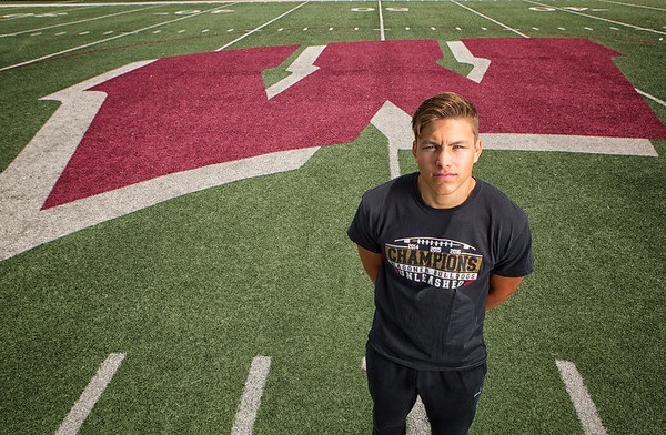 Phoenix special photo by Mandy Lundy<br /> Malcolm Rodriguez becomes Wagoner's second back-to-back Phoenix Male Athlete of the Year.