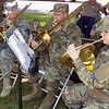MIKE ELSWICK/<br /> Muskogee Phoenix<br /> Members of the 395th Army Band performed several patriotic songs before and during Memorial Day ceremonies Monday at Fort Gibson National Cemetery.
