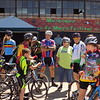 Special photo by Mike Elswick<br /> Members of the Live Love Cycle group held rides Saturday as part of Cinco de Mayo celebration. They gathered at the Love Hatbox Field hangar for a break in cycling.
