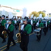 Staff photo by Mark Hughes<br /> Members of the Muskogee High School marching band perform during Saturday's Veterans Day Parade. There were at least 37 entries and around 1,000 people involved in the parade.