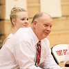 Phoenix special photo by John Hasler<br /> Back in the day when his daughter Taylor, back, played, Chuck London, front, was an assistant girls basketball coach at Fort Gibson. He takes over for Jerry Walker this season at the helm of the girls program.