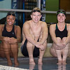 Phoenix special photo by Von Castor<br /> From left, Jazzy Dyer, Caleb Wynn and Rachel Throgmorton have grouped together to bring swimming back as a sport at Muskogee High School.