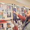 "CHESLEY OXENDINE/Muskogee Phoenix<br /> War Memorial Park Director Brent Trout explains what the Remember the Fallen entails and discusses its importance to the Park. The Save the USS Batfish Trivia Night commenced Friday evening at the Muskogee Civic Center, drawing in supporters from across Muskogee — and beyond, in the case of Lt. Gov. Matt Pinnell. Just outside the event room, War Memorial Park staff set up the Remember the Fallen exhibit detailing the lives and sacrifices of late Oklahoma soldiers. ""As Secretary of Tourism in Oklahoma, I take very seriously my job of promoting our amazing tourism assets we have around the state, and the Batfish is at the top of my list,"" Pinnell said. ""So I would not have missed this and will not miss future opportunities to save this treasure."""