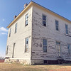 CHESLEY OXENDINE/Muskogee Phoenix.<br /> The Oklahoma Historical Society (OHS) has begun operations to rehabilitate this military hospital located on Fort Gibson Historic Site grounds.