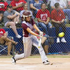 Phoenix special photo by Samuel Perry<br /> Lexy Keys delivers for Sequoyah in the Class 3A quarterfinals Thursday in Oklahoma City.