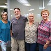 Staff photo by Wendy Burton<br /> Gracie Pipkins, left, Butch Pipkins, Donna LaFond and Vana Baker are four children of a former Muskogee firefighter who passed away in 2006. Gracie and Butch grew up together in Muskogee and didn't know about the other two. LaFond found the rest through research. Baker, who was adopted in 1951 from Muskogee, found out by DNA testing that Gracie also did through Ancestry.com.