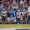 CHRIS CUMMINGS/Special to the Phoenix<br /> Checotah's Rico Howard, left, outruns Eufaula's Kaden Farrow to return a kickoff for a touchdown in the Wildcats' 36-8 win over their arch-rival.