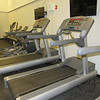 CATHY SPAULDING/Muskogee Phoenix<br /> Treadmills and stepping machines are among cardiovascular options at Muskogee Public Schools Fitness Center.