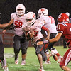 JOHN HASLER/Phoenix special photo<br /> Fort Gibson's Deven Woodworth carries the ball during the Tigers' 48-13 win at Stilwell on Friday night.