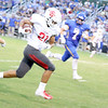 JOHN HASLER/Special to the Phoenix<br /> Fort Gibson's TavienWoodworth breaks off a long run in the Tigers' 46-20 loss to Berryhill on Friday.