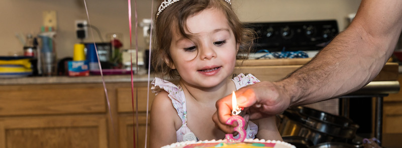 Satine's 3rd Birthday
