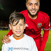 Photographer name: Michael Rincon<br /> Home team name: Phoenix Rising FC<br /> Away team name: Colorado Springs<br /> Shoot date: 7/15/2017<br /> Location: Phoenix Rising Sports Complex, Scottsdale, Arizona