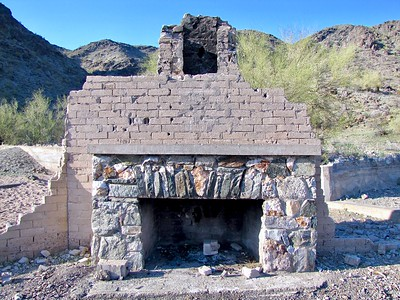 """Ruins of """"The Lost Ranch"""" in South Mountain Park (2010)"""