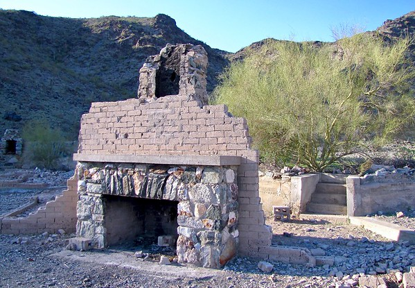 "Ruins of ""The Lost Ranch"" in South Mountain Park (2010)"