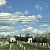 I can't drive anywhere in the east without passing a cemetery every ten miles!
