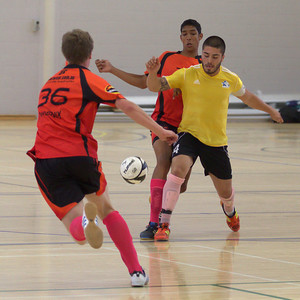 2012 1215 Futsal PL Mix Phoenix v Inner West Magic