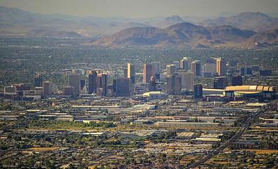 Downtown Phoenix.
