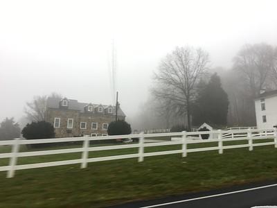 Foggy Commute - 11-30-16