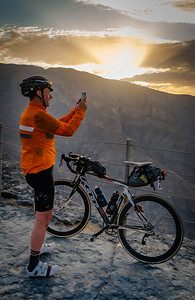 Bikingman Oman Ultra Cycling race 2019, Oman. Jebel Shamns canyon