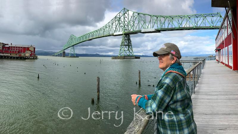 Astoria-Megler bridge over the Columbia River - Astoria, OR